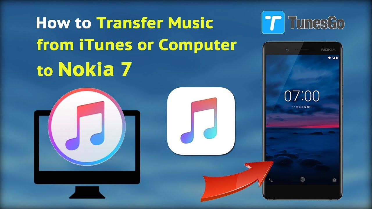 Put Music On Nokia 7 - How to Transfer Music from iTunes or Computer to  Nokia 7