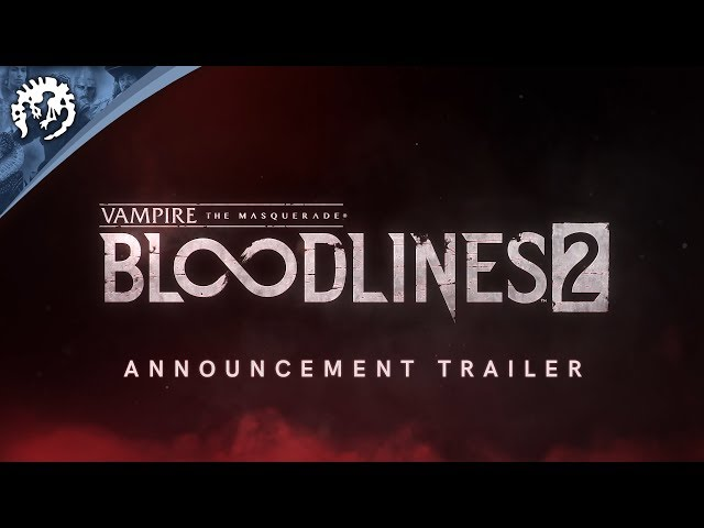 Vampire: The Masquerade Bloodlines 2' Looks Like The Single