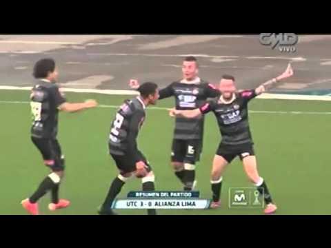 Torneo Clausura 2015: UTC 3-0 Alianza Lima (fecha 11)