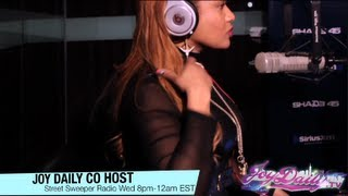 Chi Ali & Mysonne Talk Music & Prison with Kay Slay & co host Joy Daily on StreetSweeper Radio