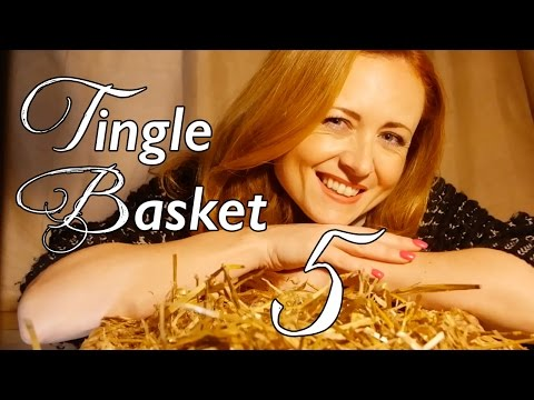 Tingle Basket #5 ❥Sleepy Binaural Triggers for ASMR & RELAXATION