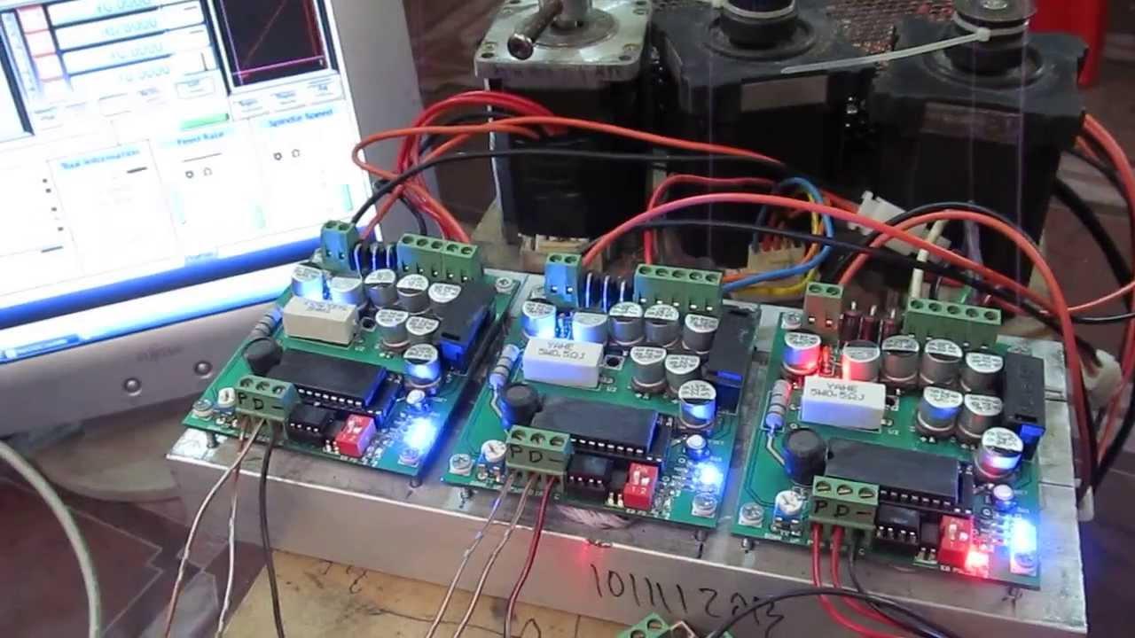 5 phase step motor driver youtube for 5 phase stepper motor
