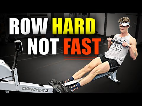 "Rowing Machine: HOW TO ROW ""FAST"""