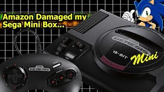 Amazon Damaged My Sega Genesis Mini Box: Within the Box Mega Drive Mini Unboxing | We Deem