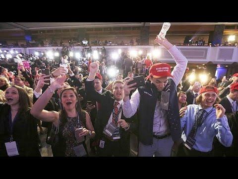 Republicans rejoice over Trump victory