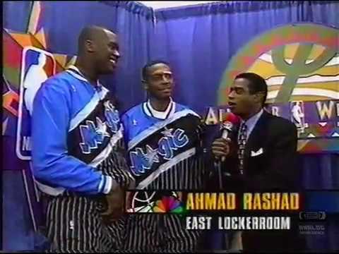 Shaq & Penny Interview with Ahmad Rashad 1995
