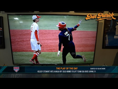 Play of the Day: Kelsey Stewart Hits Walk-Off Solo HR To Lift Team USA Over Japan 2-1 | 07/26/21