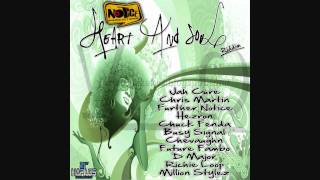 Jah cure, Etana, busy signal & others - heart and soul riddim mix (feb 2012) Dj Notnice