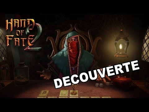 DÉCOUVERTE - Hand of Fate 2