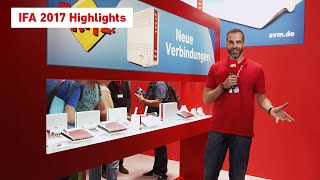 The AVM news live from the IFA stand