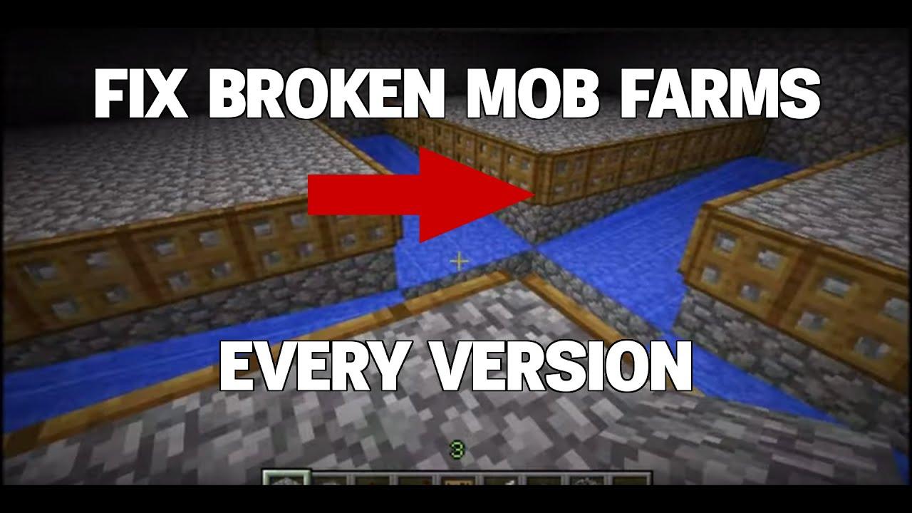 Mob Farm fix - (Mob farm - No Spawner) - YouTube