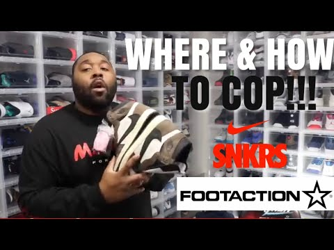 online store 0c8f4 12fa5 HOW AND WHERE TO BUY JORDAN 1 TRAVIS SCOTT! FOOTACTION AND SNKRS APP