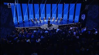 Prezidentská debata - Přímá volba prezidenta ČR 2018