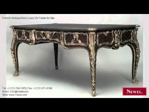 French Antique Desk Louis XIV Tables for Sale - French Antique Desk Louis XIV Tables For Sale - YouTube