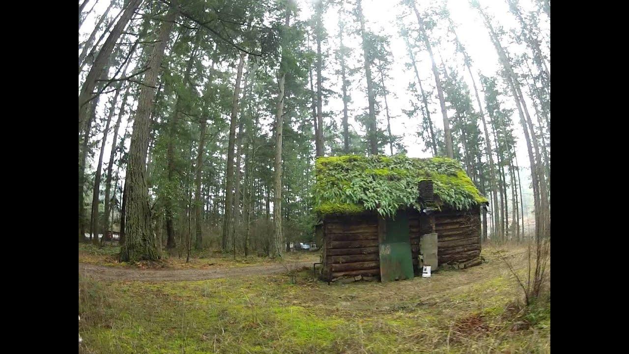 Old Log Cabin Salt Spring Island Canada Youtube