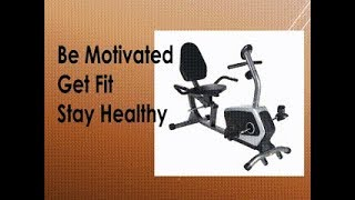 Sunny Health and Fitness Magnetic Recumbent Bike Review SF-RB4616