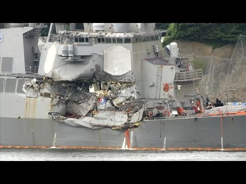 Questions raised in USS Fitzgerald collision that left 7 dead