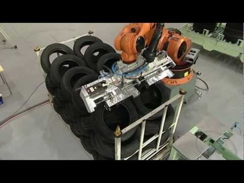 Fully automated handling for tire manufacture