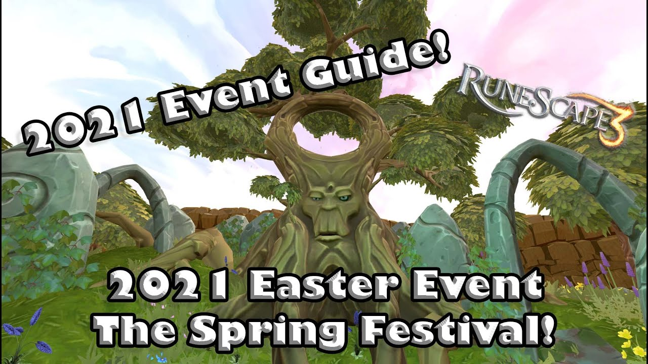 Christmas Event 2021 Runescape Rs3 2021 Easter Event Guide The Spring Festival A Guide To Guthixian Butterflies Spring Tokens Youtube