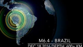 Big Earthquakes Continue, Record Cold | S0 News Dec.19.2016