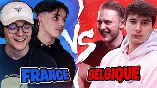 FRANCE vs BELGIQUE sur Fortnite ! (ft. Mushway, Teeqzy, Noward) | !pizzahutfr !pizzahutbe #pub