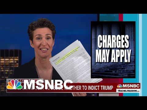 Maddow: Trump Grand Jury Not Surprising But Still Shocking | MSNBC