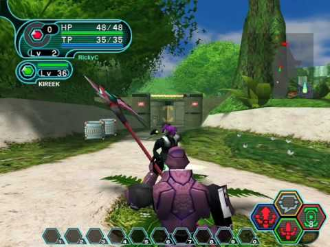 PC Longplay [824] Phantasy Star Online: Blue Burst Episode 1 (part 1 of 4)
