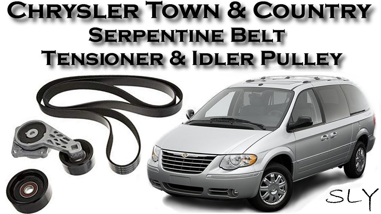how to replace caravan or town country 3 8l serpentine belt tensioner idler pulley youtube how to replace caravan or town country 3 8l serpentine belt tensioner idler pulley
