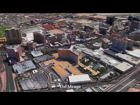 Apple Maps Las Vegas Flyover