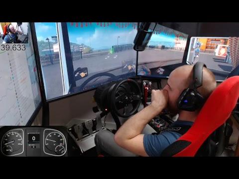 Euro Truck Simulator 2 - pro mods map+mods E27