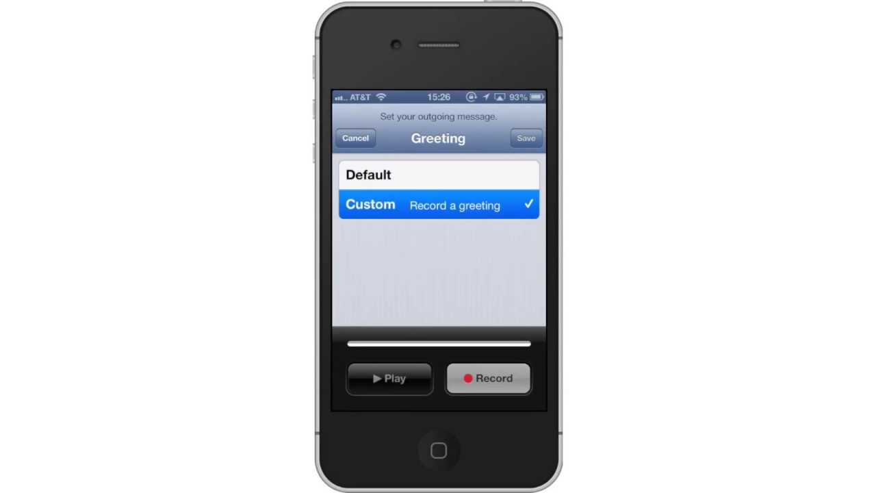 set up iphone how to set up voicemail to iphone 12954