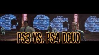 DCUO - Ps3 Vs. Ps4