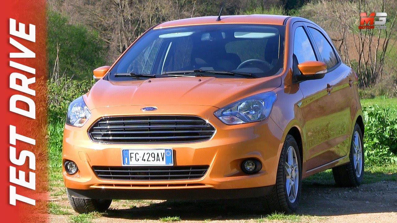 new ford ka plus 2017 first test drive youtube. Black Bedroom Furniture Sets. Home Design Ideas