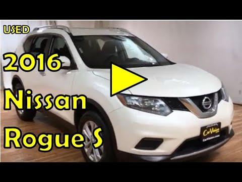 2016 Nissan Rogue S AWD NAVIGATION REAR CAMERA #Carvision