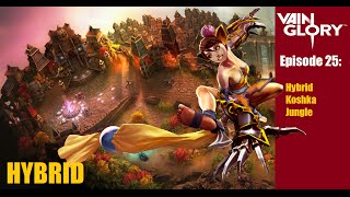 Vainglory - Episode 25: Koshka Hybrid Jungle Gameplay