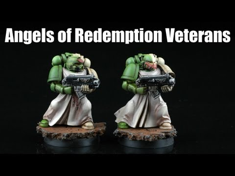 How to paint Angels of Redemption Veterans?