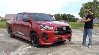 แรงสะใจ ไร้ OPTION!! ลองกระบะเตี้ยหน้าหล่อ Toyota Hilux REVO GR Sport Lo-Floor 2WD สิงห์ทางตรงน่ะ