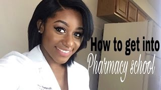 How to get into PHARMACY SCHOOL| (PCAT, Pharmcas....)