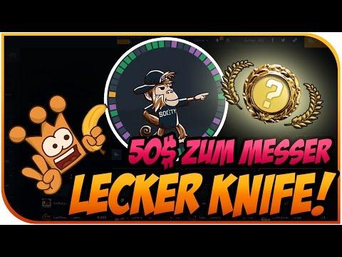 Cs Go Gambling ► 50$ zu nem geilen Knife auf Society