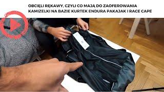 Obcięli rękawy, czyli co mają do zaoferowania kamizelki na bazie kurtek Endura Pakajak i Race Cape