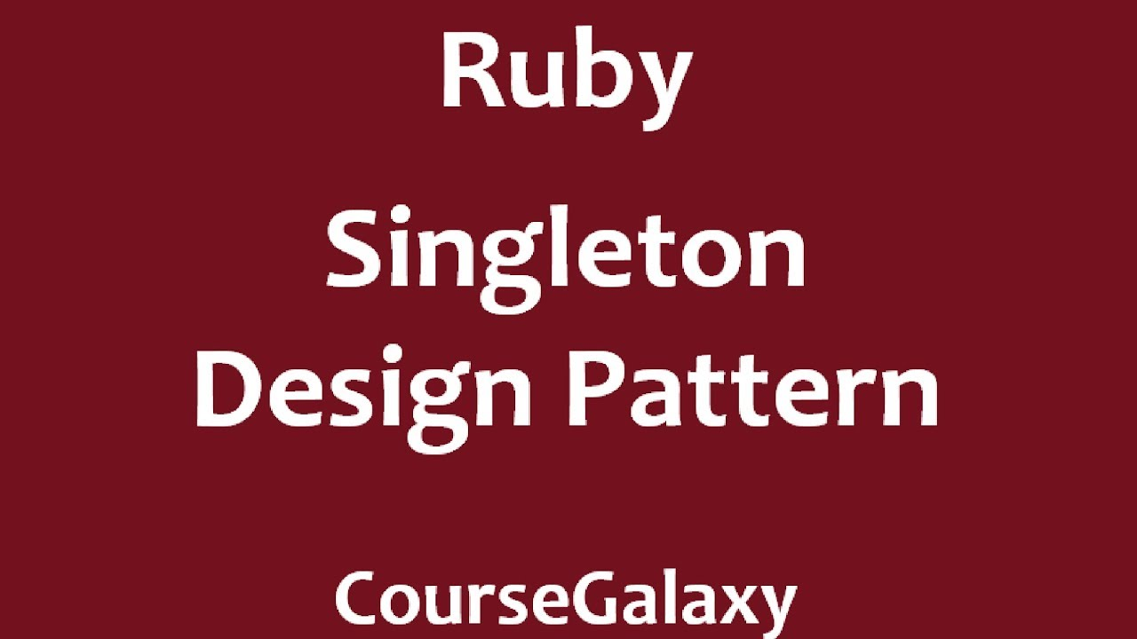 Ruby Design Patterns Cool Decorating Ideas