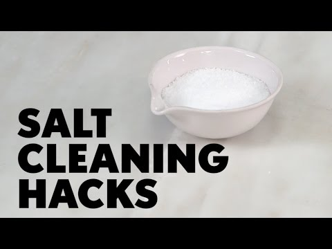 Salt Cleaning Hacks | MyRecipes