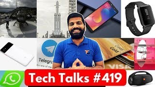 Tech Talks #419 - Galaxy X, Infinix Hot S3, Falcon Heavy, Credit Card Bitcoin, Microdrones