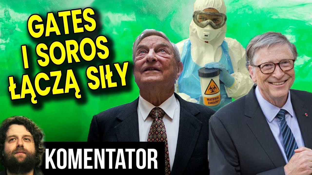 Bill Gates i George Soros Łączą Siły! Kupili Producenta Testów na Zarazę! Analiza Komentator Finanse