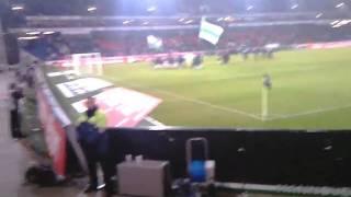 Hannover96 gegen VFL Wolfsburg 05.02.2011