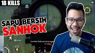 Parah!! Bang Alex terlalu GG! Sapu Bersih Sanhok 18 Kills - Pubg Mobile Indonesia