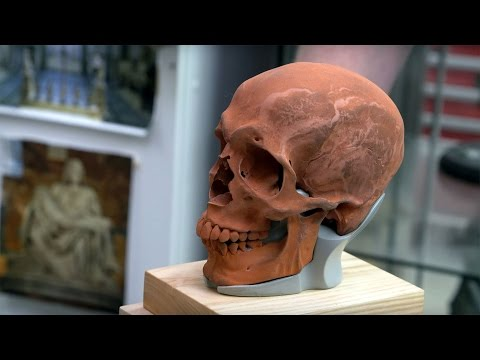 Weta Workshop Artists Hand-Sculpted Skulls