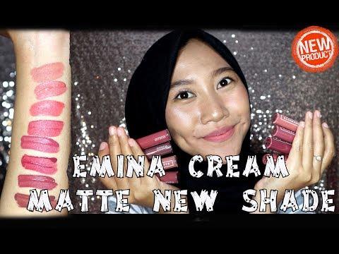 emina-cream-matte-new-shade-no-8---15-:-review-+-swatch-+-uji-ketahanan