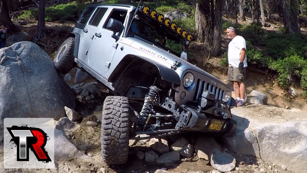 Jeep Trails Jeep Wrangler The Rubicon Trail Section Of The Big Sluice