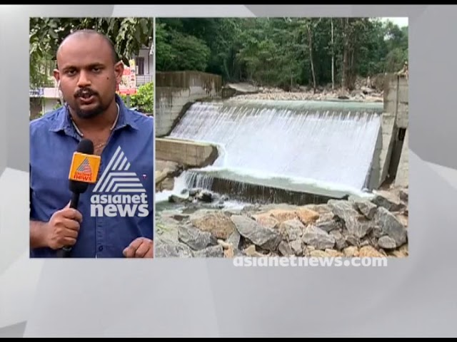 Adyanpara  power house under construction : No electric power generation for an year